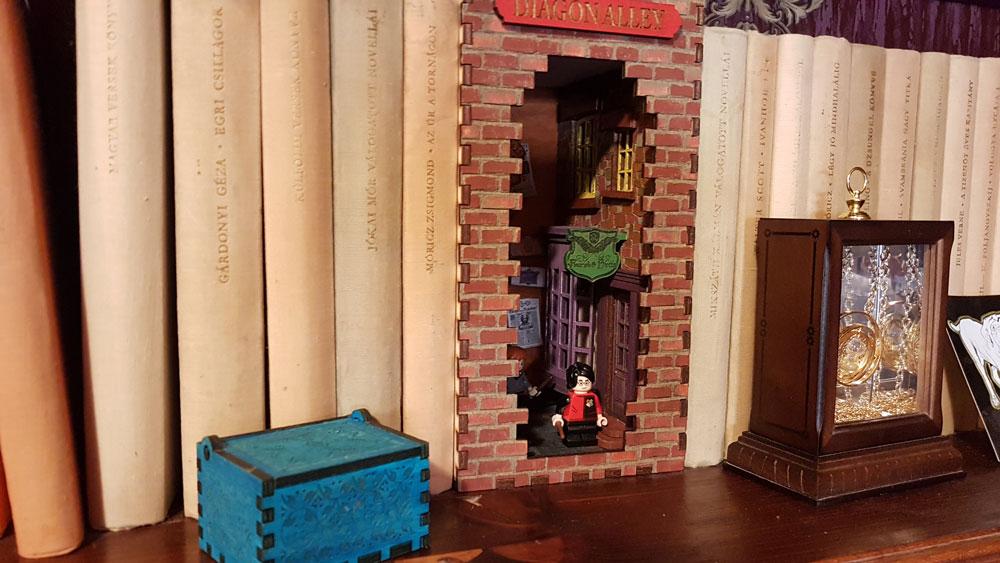 Harry Potter és a book nook