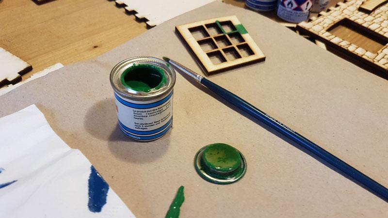 Próba festések