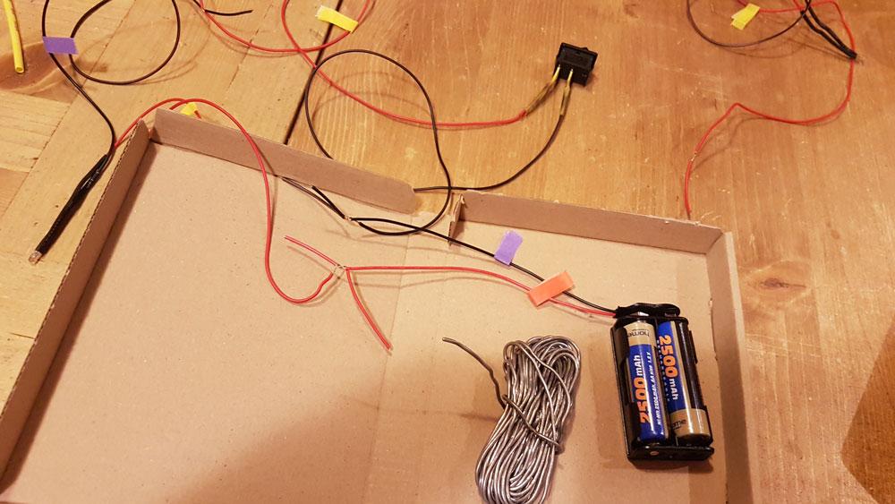 A világítás áramköre